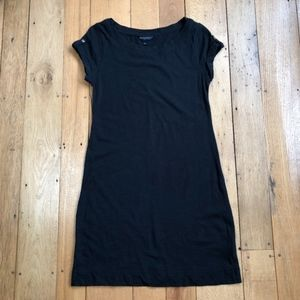 Banana Republic Black Jersey Shift Dress